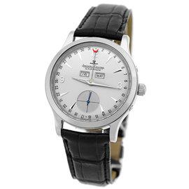 "Jaeger LeCoultre ""Master Control Calendar"" 18K White Gold Mens Strap Watch"