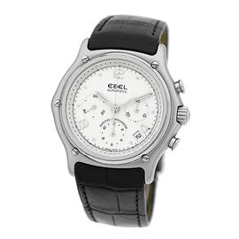 Ebel 1911 Chronograph Stainless Steel Mens Watch