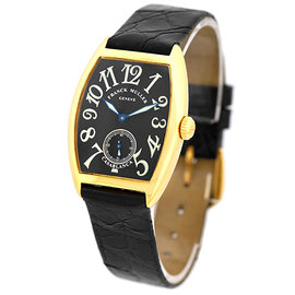 Franck Muller Casablanca 18K Yellow Gold Unisex Watch