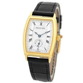 "Breguet ""Heritage"" 18K Yellow Gold Womens Strap Watch"