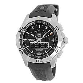 Tag Heuer Aquaracer 2000 CAF1010.BA8011 Stainless Steel Quartz Chronotimer 43mm Watch