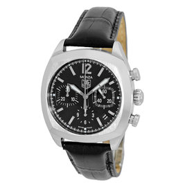 "Tag Heuer ""Monza"" Automatic Chronograph Stainless Steel Strapwatch"