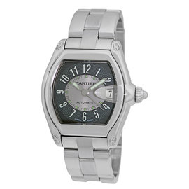 Cartier Roadster W62001V3 Stainless Steel Automatic 35mm Mens Watch