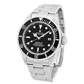 "Rolex Stainless Steel Rolex ""Sea-Dweller Date"" 40mm Watch"