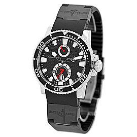 Ulysse Nardin Marine Diver Stainless Steel Strap Mens Watch