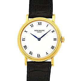 Patek Philippe Calatrava 3992-J 18K Yellow Gold Automatic 34.5mm Watch