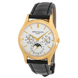 Patek Philippe Perpetual Calendar 5140 J 18K Yellow Gold Mens Strapwatch