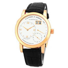 A. Lange & Sohne Lange 1 18K Rose Gold Mens Watch