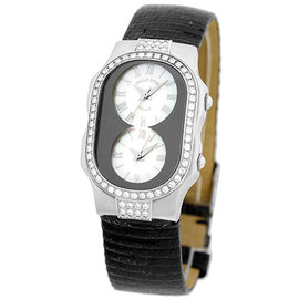 Philip Stein Teslar Diamond Stainless Steel Womens Watch