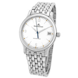 """Jaeger Le Coultre """"Master Control 1000 Hours"""" Stainless Steel Automatic 34mm Mens Watch"""