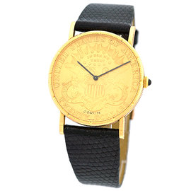 Corum 1899 U.S. $20 Coin 18K Yellow Gold Watch