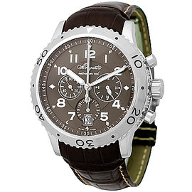 "Breguet ""Transatlantique Type XXI"" Stainless Steel Flyback Chronograph Mens Watch"