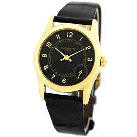 Patek Philippe Calatrava 5000-J 18K Yellow Gold Automatic 35mm Mens Watch