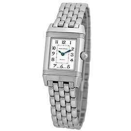 Jaeger-LeCoultre Reverso Duetto Q269.14.20 Stainless Steel 21mm Womens Watch