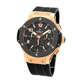 Hublot Big Bang 301.PB.131.RX 18K Rose Gold & Ceramic 44.5mm Mens Watch