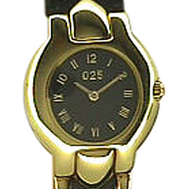 Versace 18K Yellow Gold Strapwatch