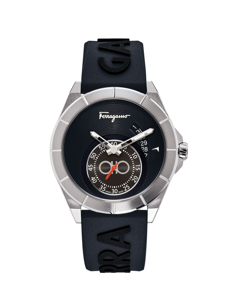 Ferragamo Blue 43mm