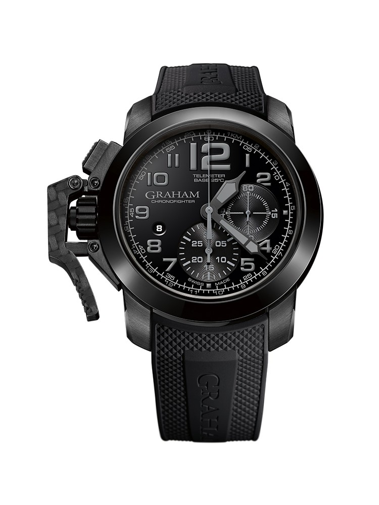 Graham Chronofighter Target 2CCAU.B24A.K92N 47mm Mens Watch