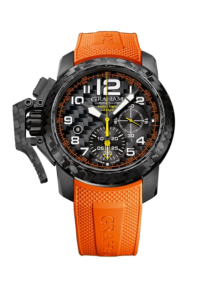 Graham Chronofigher Superlight 2CCBK.O01A 47mm Mens Watch
