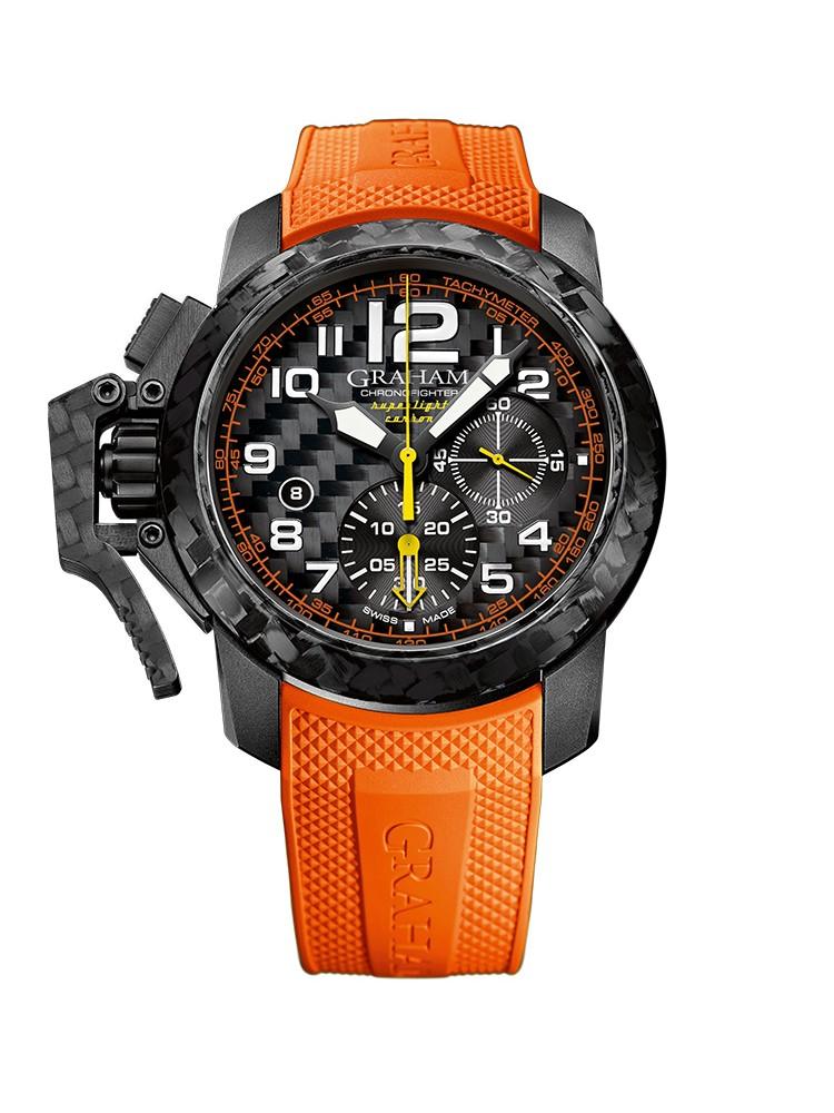 Graham Chronofigher Superlight 2CCBK.O01A 47mm Mens Watch