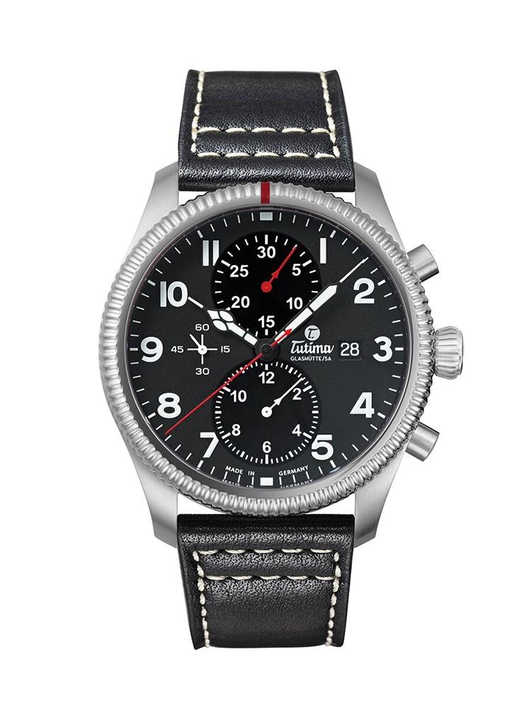 Tutima Glashütte Grand Flieger Chronograph 6402-01