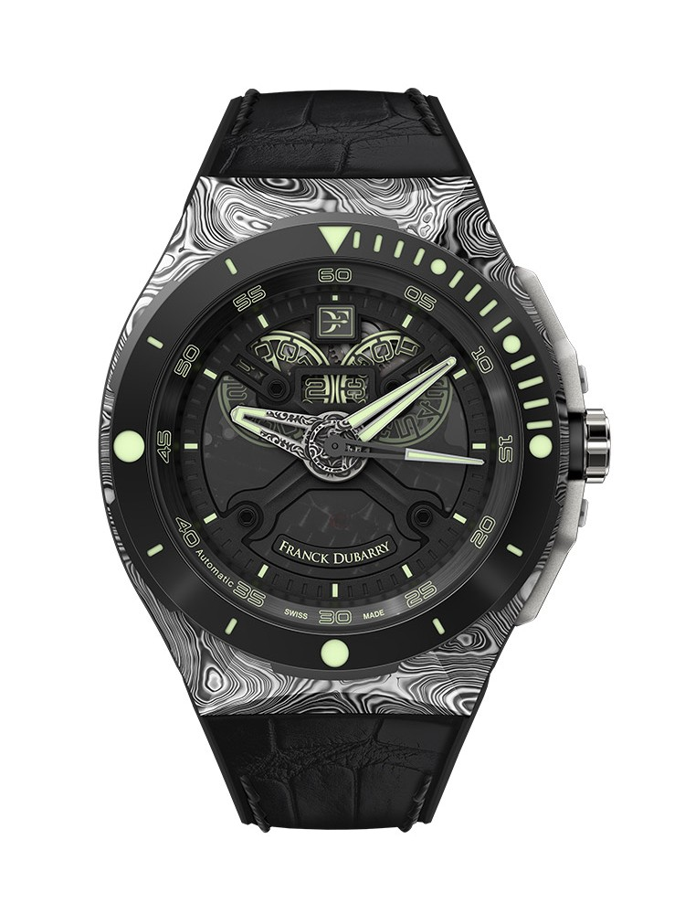 Franck Dubarry Diver DIV-02 43.5mm Mens Watch (Pre-Order)
