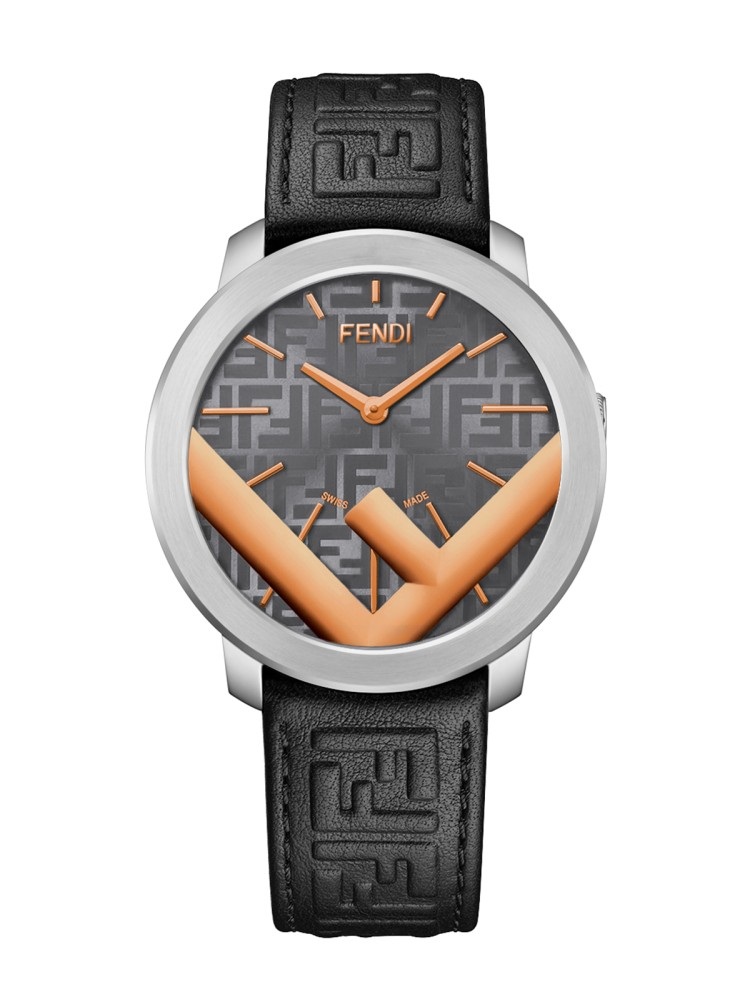Fendi Timepieces Grey 41 mm F716216011