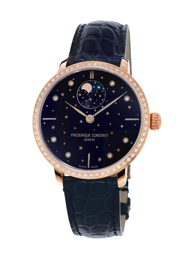 Frederique Constant Slimline Manufacture Moonphase Stars FC-701NSD3SD4