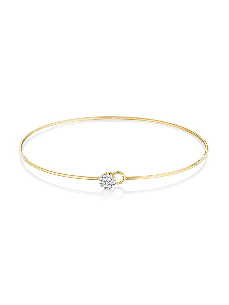 Yellow Gold Love Always Bracelet