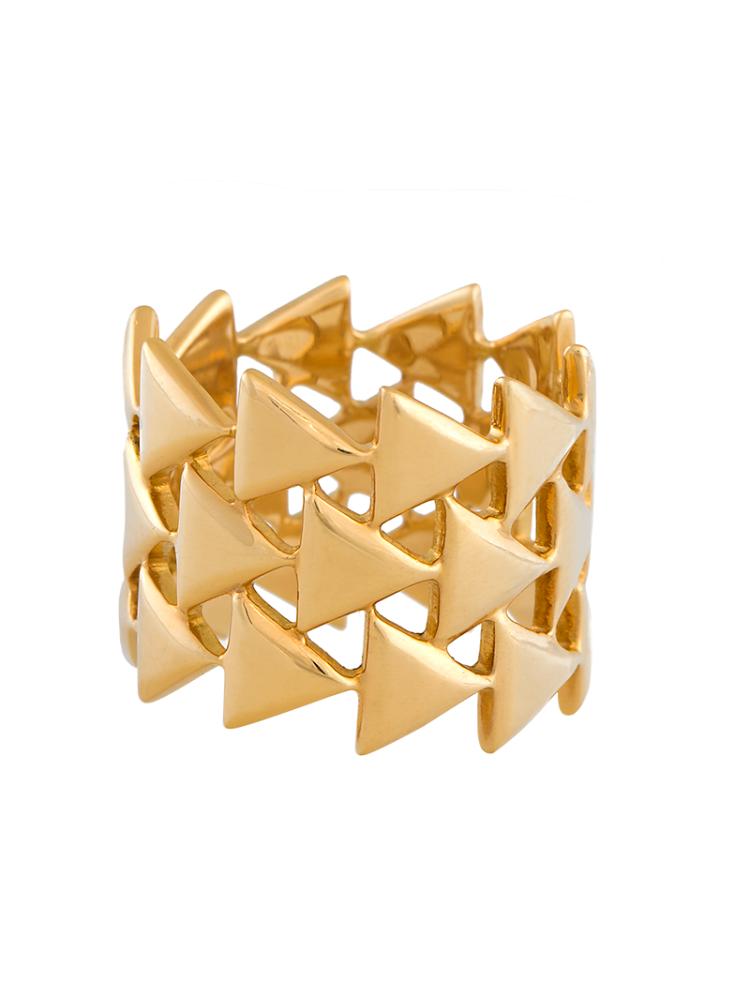 Unity Eternal Yellow Gold Ring