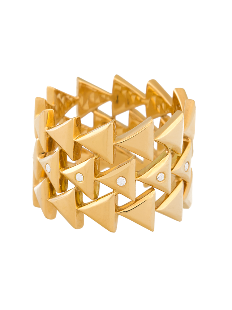 Unity Eternal Yellow Gold Ring
