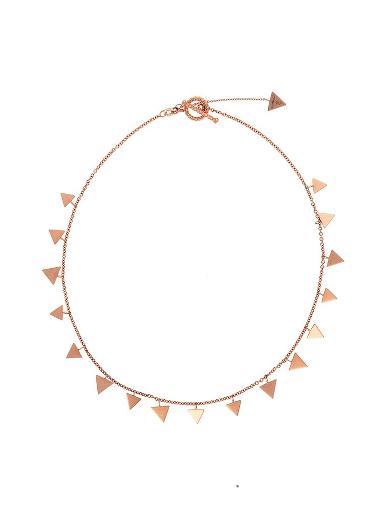 Misahara World We 18k Rose Gold Necklace