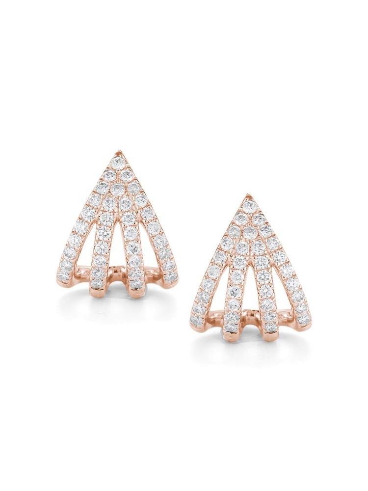 Sarah Leah 14k Rose Gold Earrings