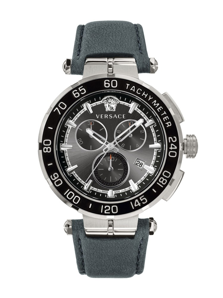 Versace Black 45 mm VEPM00120