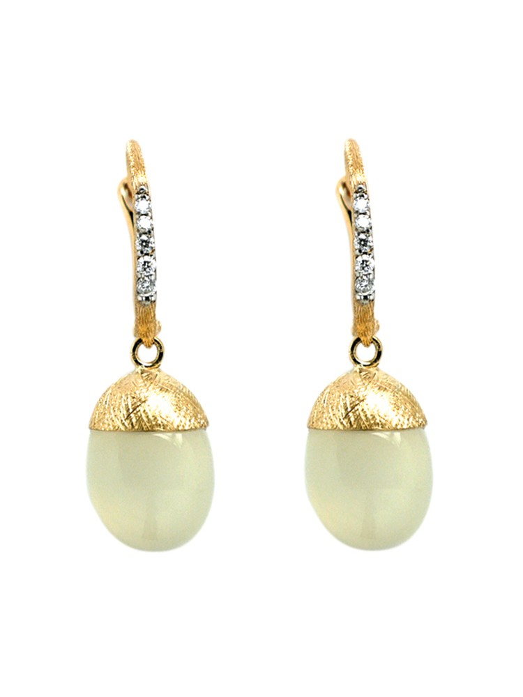 Dancing in the Rain Gold 18kt Earrings
