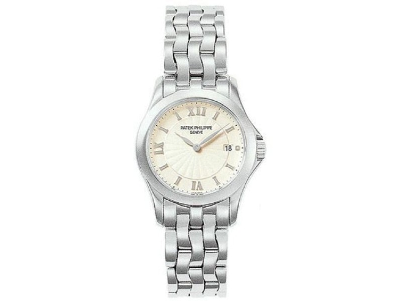 Patek Philippe Calatrava 4906-1G 18K White Gold 28mm Watch