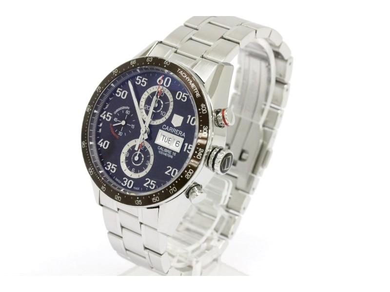 Tag Heuer Carrera Stainless Steel Automatic 43mm Mens Watch
