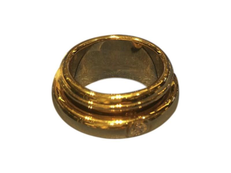 Piaget G34PU200 18K Yellow Gold Ring Size 7