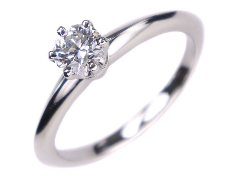 TIFFANY&Co Pt950Platinum Solitaire Ring