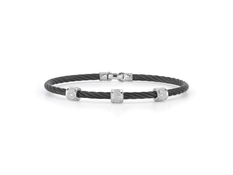 Alor 18k White Gold Diamonds Bracelet