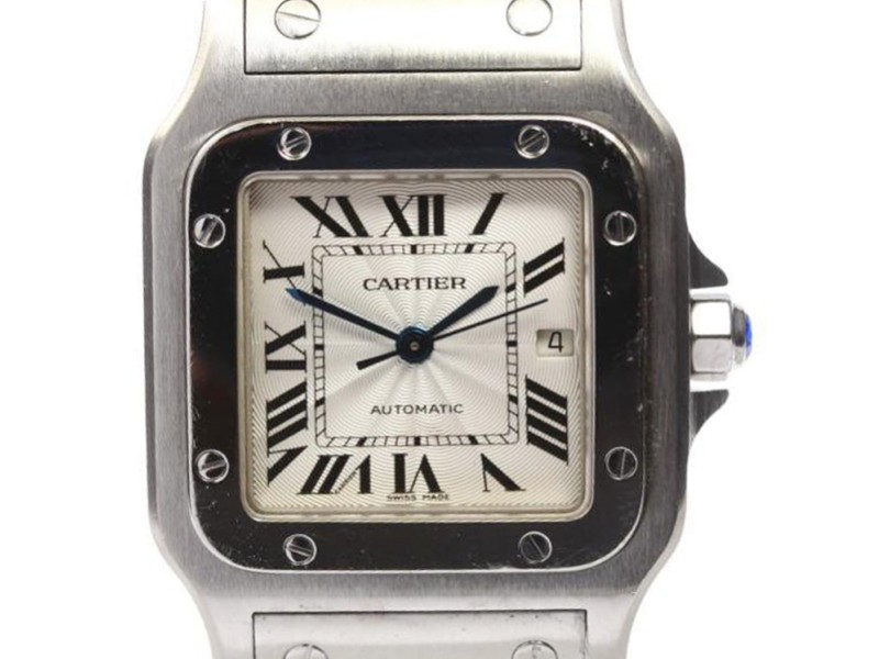 Cartier Santos W20055D6 Stainless Steel Automatic 29mm Mens Watch