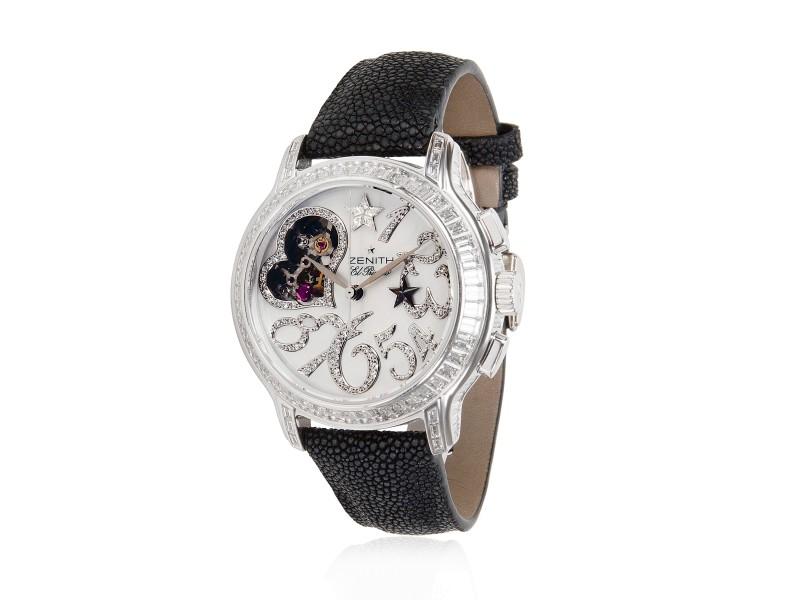 Zenith Starissime 45.1232.4021 Women's Watch in 18K White Gold