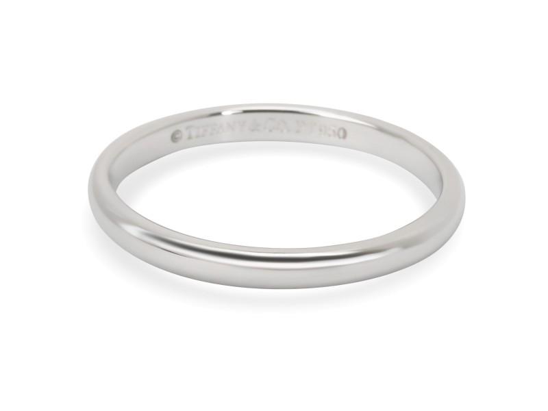 Tiffany & Co. Classic Lucida Wedding Band in Platinum 2mm