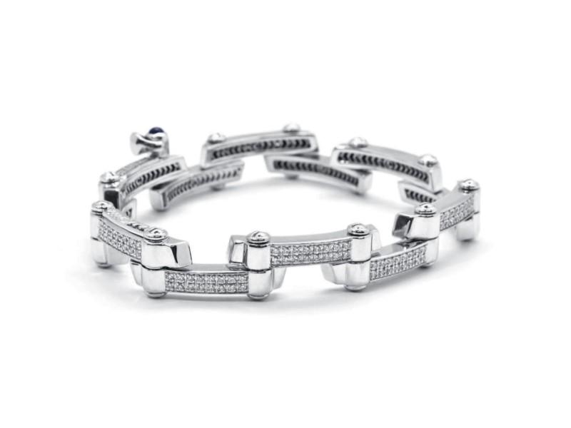 Charriol  18k White Gold  Bracelet