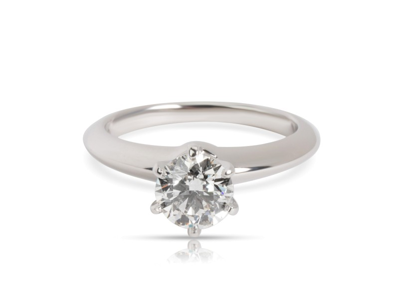 Tiffany & Co. Diamond Solitaire Engagement Ring in Platinum (0.80 ct I VVS1)