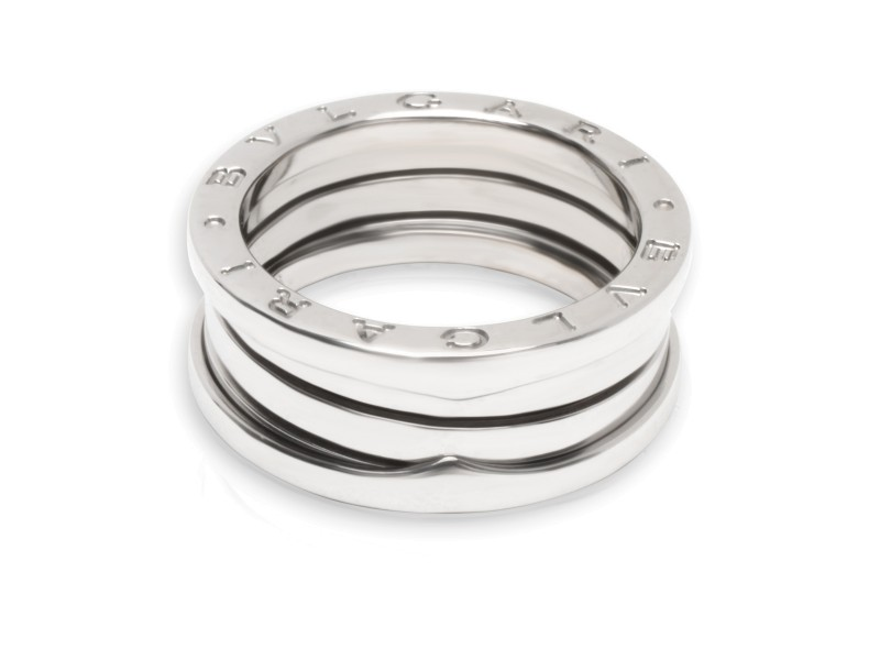 Bulgari B.zero1 Ring in 18K White Gold (Size 56)
