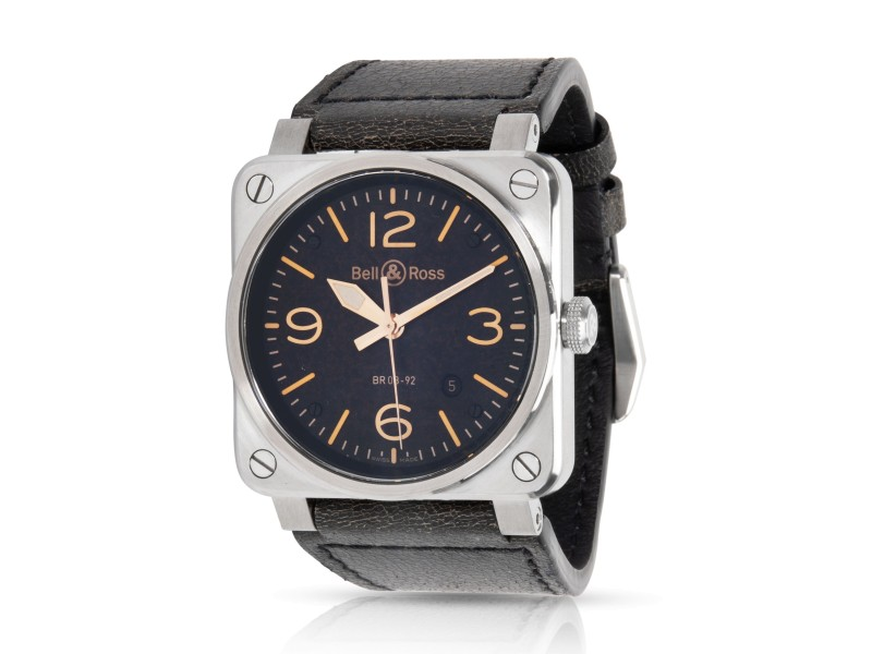 Bell & Ross Heritage BR03-92 Men's Watch in  Stainless Steel