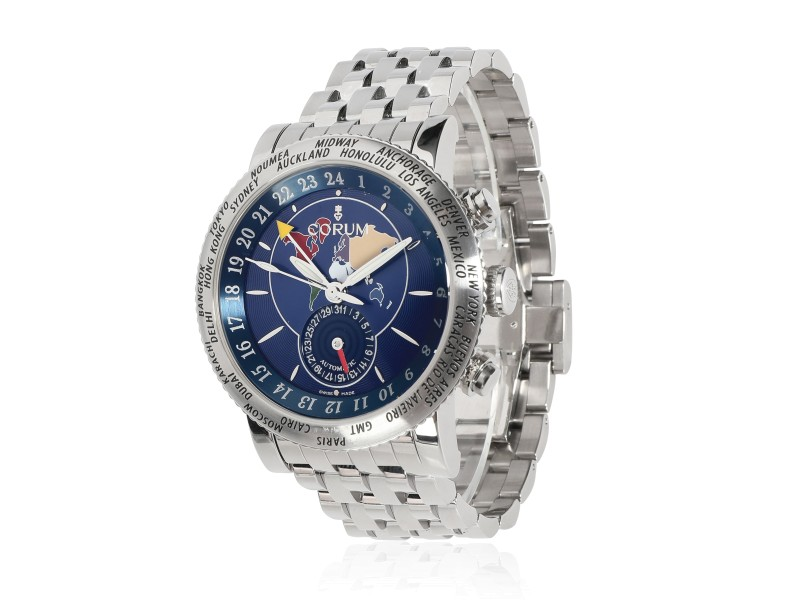 Corum Classic GMT 983.201.20 Men's Watch in  Stainless Steel