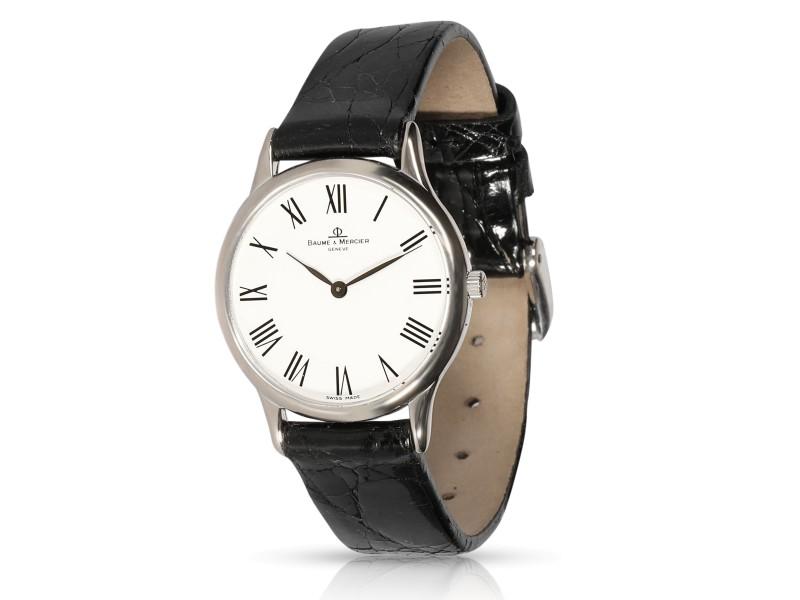 Baume & Mercier Classic MX000WZ2AA Women's Watch in 18kt White Gold