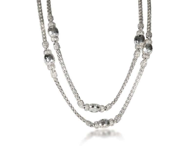John Hardy Palu Necklace in  Sterling Silver